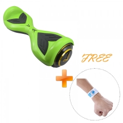 Two Wheels Children Smart Outdoor Self-Balancing Electric Scooter green US