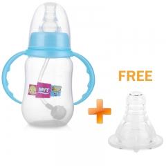 Pretty Baby 150ML Feeding Bottle Standard Caliber Cross Pacifiers Blue 150ML