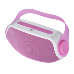 CKY Portable Wireless Bluetooth Rechargeable Stereo Hi-Fi Speaker Sound Box Pink One size
