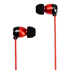 Metrans MH01 Intelligent 3.5mm Earphone Red with Black