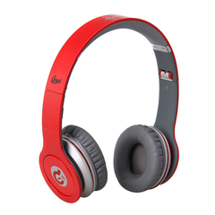 Syllable Foldable  Wired Stereo Hifi OST Headset Headphones G05-003 Red