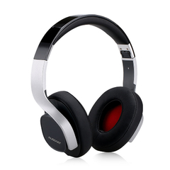 Ausdom M08 Wireless Bluetooth  headphone Sound Rich Bass Music Business headset Black with Silver