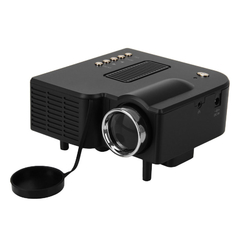 Excelvan Portable Mini LED Projector For Cinema Theater PC&Laptop EU White One Size