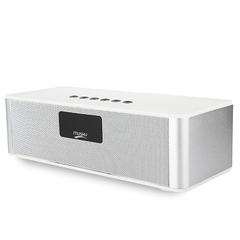 MUSKY DY21L Multimedia Mini Bluetooth Speaker with Stereo FM AUX​ White One size