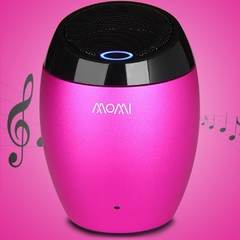 Momi M1 High Performance Wireless Bluetooth Music Speaker Built-in Microphone Plum One Size