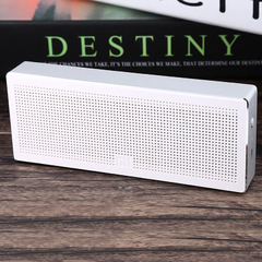 Original Square Box Xiaomi Bluetooth 4.0 Speaker Music Player White One Size