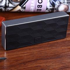 Original Square Box Xiaomi Bluetooth 4.0 Speaker Music Player Black One Size