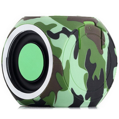 DT-B660 Bluetooth Speaker IPX7 Waterproof Built-in Rechargeable Battery Olive Green One Size