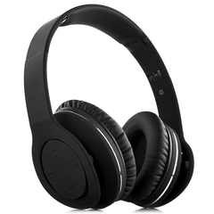VEGGIEG V8800N Foldable Bluetooth EDR Hands Free Headset MP3 Music Headphone with Microphone Black