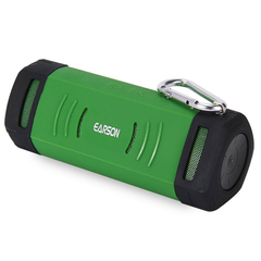 EARSON ER160 Outdoor Wireless Bluetooth EDR Speaker with Protective Cover Green One Size