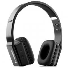 VEGGIEG V8200 Stretch Wireless Bluetooth  Hands Free Headset MP3 Music Headphone Black