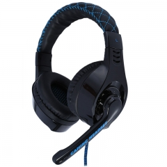 SOMIC G95 USB Gaming Headphone Blue Light LED Gaming Headset Headphone and Microphone Black