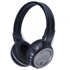 Zealot B560 Foldable On-ear Wireless Stereo Bluetooth Headphones with FM Radio TF Card Slot Gray