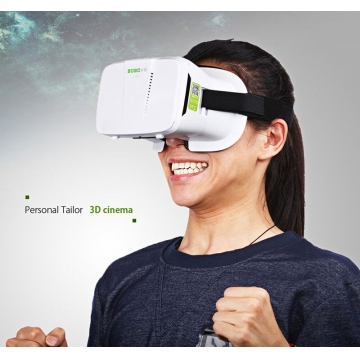 Xiaozhai II VR Virtual Reality Head-Mounted 3D Glasses for Smartphone White One size