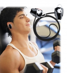 Bluetooth Hifi Wireless Non-slip  Headphone Stereo Stabilized Sports HD Stereo Sound Black
