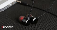 PLEXTONE X34M 3.5mm Plug Headsets Universal Line-control Earphones Black