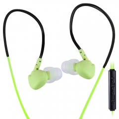 PLEXTONE S20 Sweat Proof Sports Earphones with Mic Green
