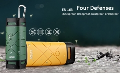 EARSON ER163 Outdoor Bluetooth Speaker Self-Timer Deep Green One Size