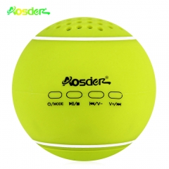 Leather Cover Wireless Bluetooth Tennis Rechargeable Speaker TF Card for Devices Green One Size