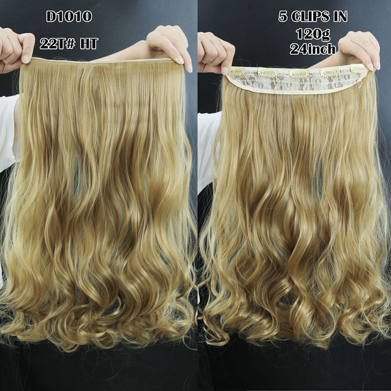 Kilimall new hairpiece curly 5 clips in hair styling synthetic image image image image image solutioingenieria Image collections