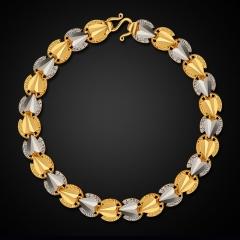 Heart Shape 18K Gold Plated Platinum Bracelet 18K Golden One size