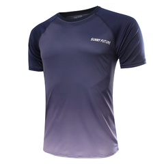 New Fashion Men's Sports T-Shirt Purple M