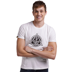 Short-Sleeve T-Shirt For Men Of Combed Cotton Fabric Soft Feeling White S