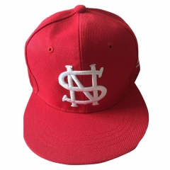 Fashion Emboridered Cap Baseball Cap Golf Hats Hip Hop Fitted Cheap Polo Hats red one size