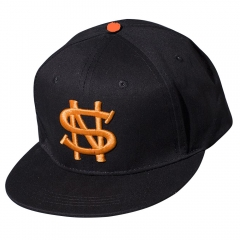 Fashion Emboridered Cap Baseball Cap Golf Hats Hip Hop Fitted Cheap Polo Hats black one size