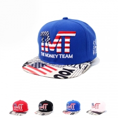 Fashion Design Men Hip Hop Baseball Caps Hot Selling blue one size