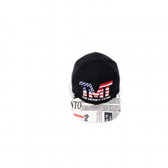 Fashion Design Men Hip Hop Baseball Caps Hot Selling black one size