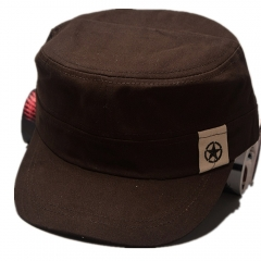 New Arrival Men's Casual Style Five-printed Star Caps Brown one size