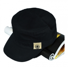 New Arrival Men's Casual Style Five-printed Star Caps black one size