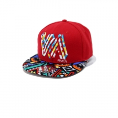 New Style Men Letter Pattern Hip Hop Baseball Caps Wholesale red one size