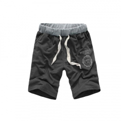 Fashion Men Outdoor Sports Casual Leisure Shorts Pants Dark Gray 3XL