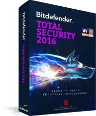 Bitdefender Total Security 2016 - 3 PC / 1 Year