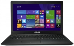 Asus X553M Notebook Laptop: Intel Celeron, 2/500GB, 2.1GHz, Windows 8 (No odd) - Black, 15.6 Inch