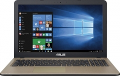Asus R540L Notebook Laptop: Intel Core i3, 4GB/1TB, 1.7 GHz Windows 10 (No odd) - Silver, 15.6 Inch