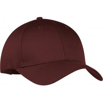 2016 Spandex Elastic Fitted Hats Sunscreen Baseball Cap Men&Women Sport - Maroon