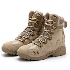 2016 Sport Army Men's Tactical Boots Desert Outdoor leather Boots Male Shoes BROWN 7