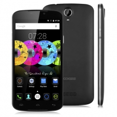 DOOGEE X6 Pro, 5.5'', Android 5.1, Quad Core, 2GB RAM + 16GB ROM, 8.0MP Camera Smartphone Black