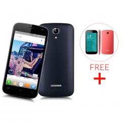 DOOGEE X3, 4.5'', Android 5.1, Quad Core, 1GB RAM, 8GB ROM, 5.0MP Camera Smartphone Black