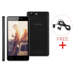 DOOGEE X5 Pro - 5.0'' - Android 5.1 - Quad Core - 2GB RAM + 16GB ROM - Dual SIM Black