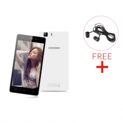 DOOGEE X5, 5.0'', Android 5.1, 1GB RAM + 8GB ROM Smartphone White