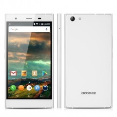 DOOGEE Y300, 5.0'', Android 6.0, Quad Core, 2GB RAM + 64GB ROM, Dual SIM Smartphone Silver
