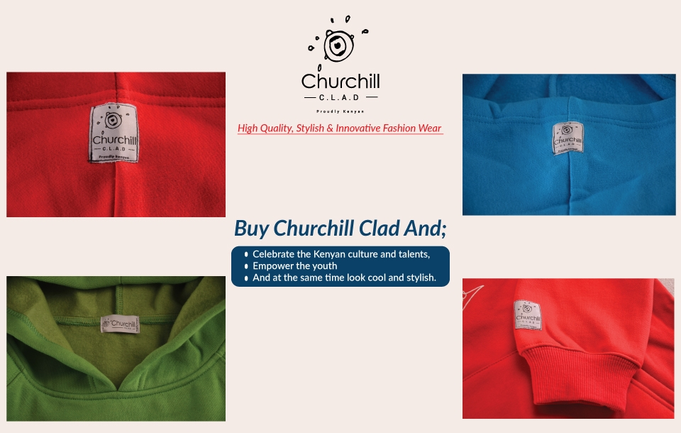 Churchill Clad Unisex Fashion Hoodie