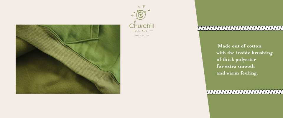 Churchill Clad Unisex Fashion Hoodie, Kilimall Kenya