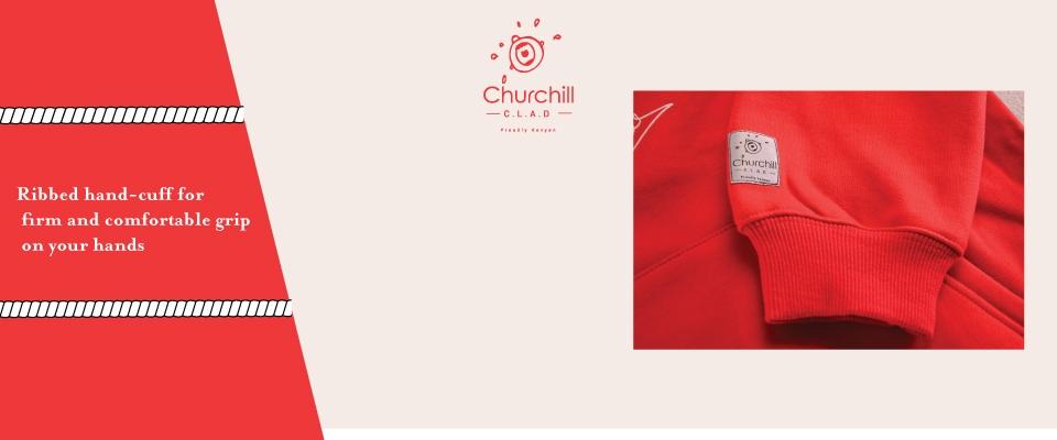Churchill Clad Unisex Fashion Hoodie