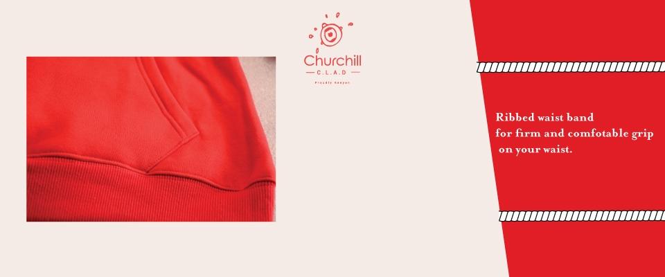 Churchill Clad Unisex Fashion Hoodie, Kilimall Kenya