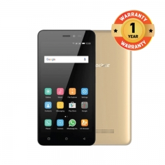 Gionee  P5W 5.0 HD Android 5.1 Touch Smart phone  Camera2MP/5MP RAM1G ROM 16G Always In Power Golden